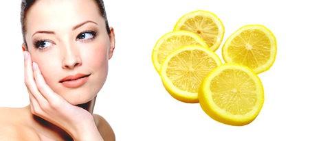 limón contra las marcas de acné