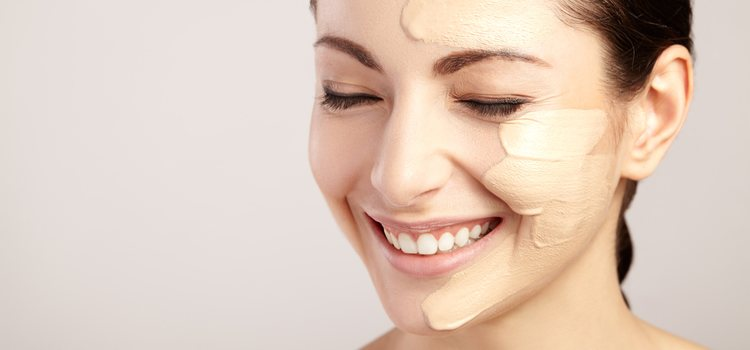 La base tiene diferentes formatos en función del tipo de piel