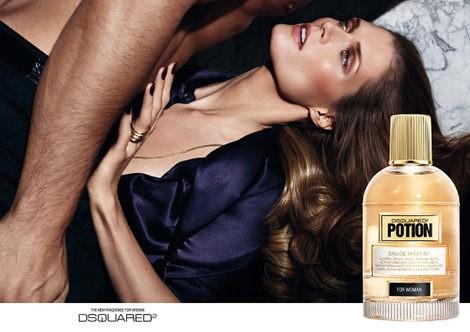 Imagen de la campaña de la nueva fragancia 'Potion for woman'