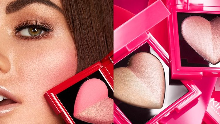 El colorete (izq) y el highlighter (drch) de 'Magnatic Attraction'
