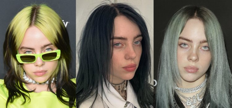 El maquillaje minimalista de Billie Eilish da protagonismo a sus ojos azules