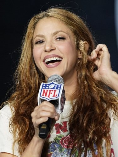 El cabello sin peinar de Shakira en la Super Bowl