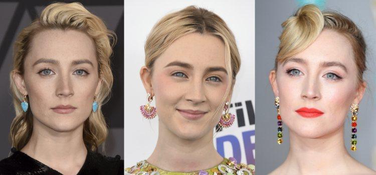 Saoirse Ronan prefiere optar por los labios nude aunque para dar un toque de color se decide normalmente por los tonos rojos