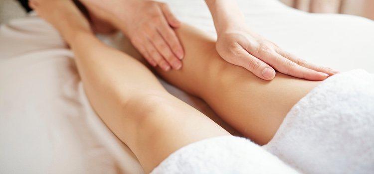 Los masajes drenantes te aliviarán la presión