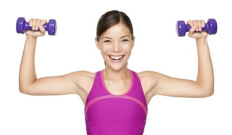 Ejercicios para mantener los brazos fuertes y tersos