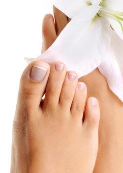 Cortar las uñas de los pies