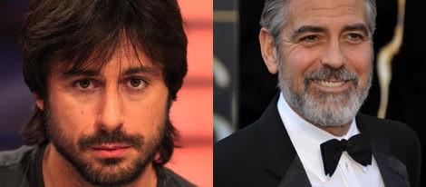 Hugo Silva y George Clooney apuestan por la barba completa