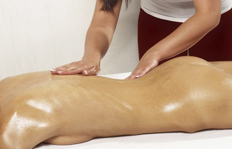 Tratamiento corporal con parafina