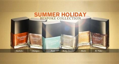Colección 'Holidays' de Butter London
