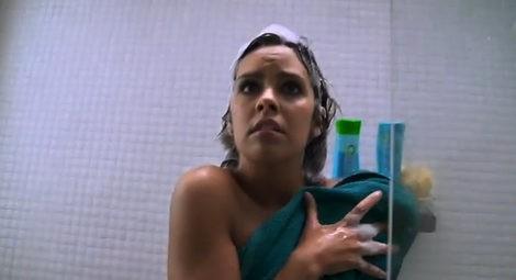 Cristina Pedroche pillada en la ducha