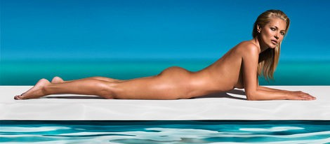 Kate Moss desnuda para St. Tropez