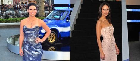 Las actrices Gina Carano y Jordana Brewster