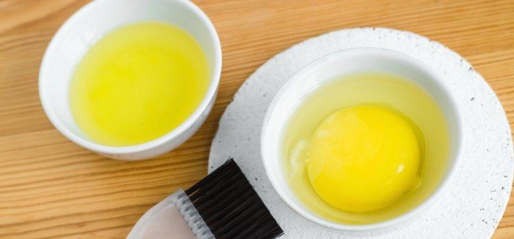 La yema de huevo te ayudará a hacer un buen remedio casero