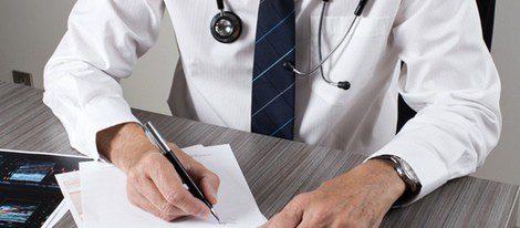 Diagnóstico del médico