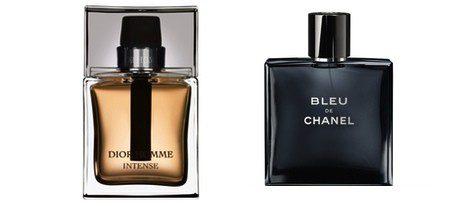 Fragancias para hombre 'Bleu' y 'Dior homme intense