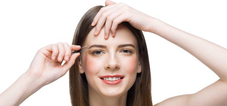 Las pinzas por lo general solo se utilizan para el rostro