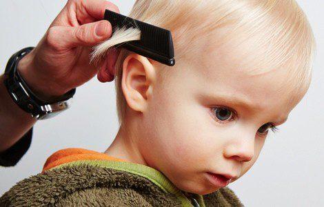 Elige un peinado sencillo y fácil de peinar cuando si el niño es pequeño
