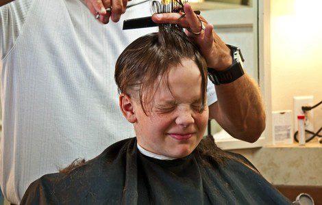 Si ambos elegís el peinado, para tu hijo será más divertido ir a la peluquería