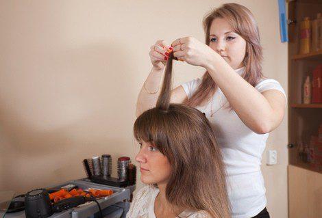 Como poner rulos en pelo largo