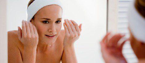 Leche de magnesia para el cuidado facial