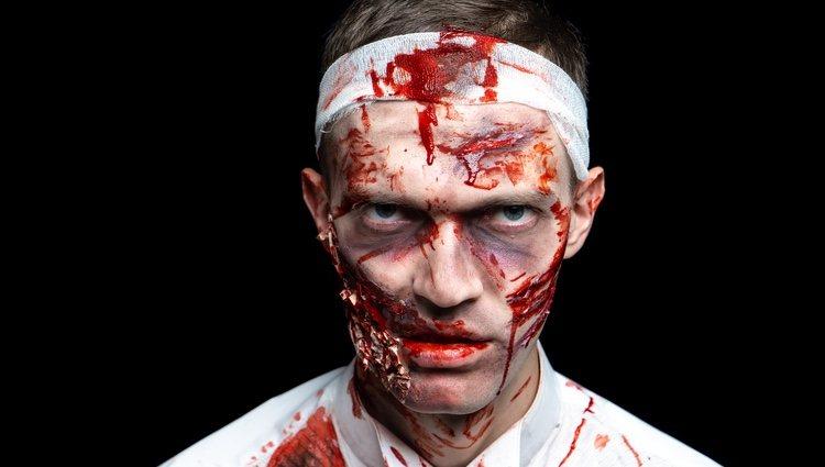 El disfraz de zombie cada vez es más habitual