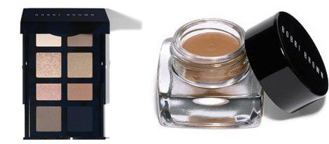 'Navy and Nude palette' y 'Long-Wear Cream Shadow' de Bobbi Brown