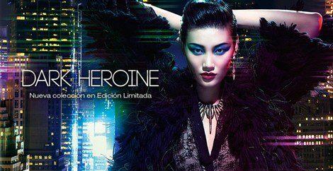 Imagen promocional de la línea 'Dark Heroine' de Kiko
