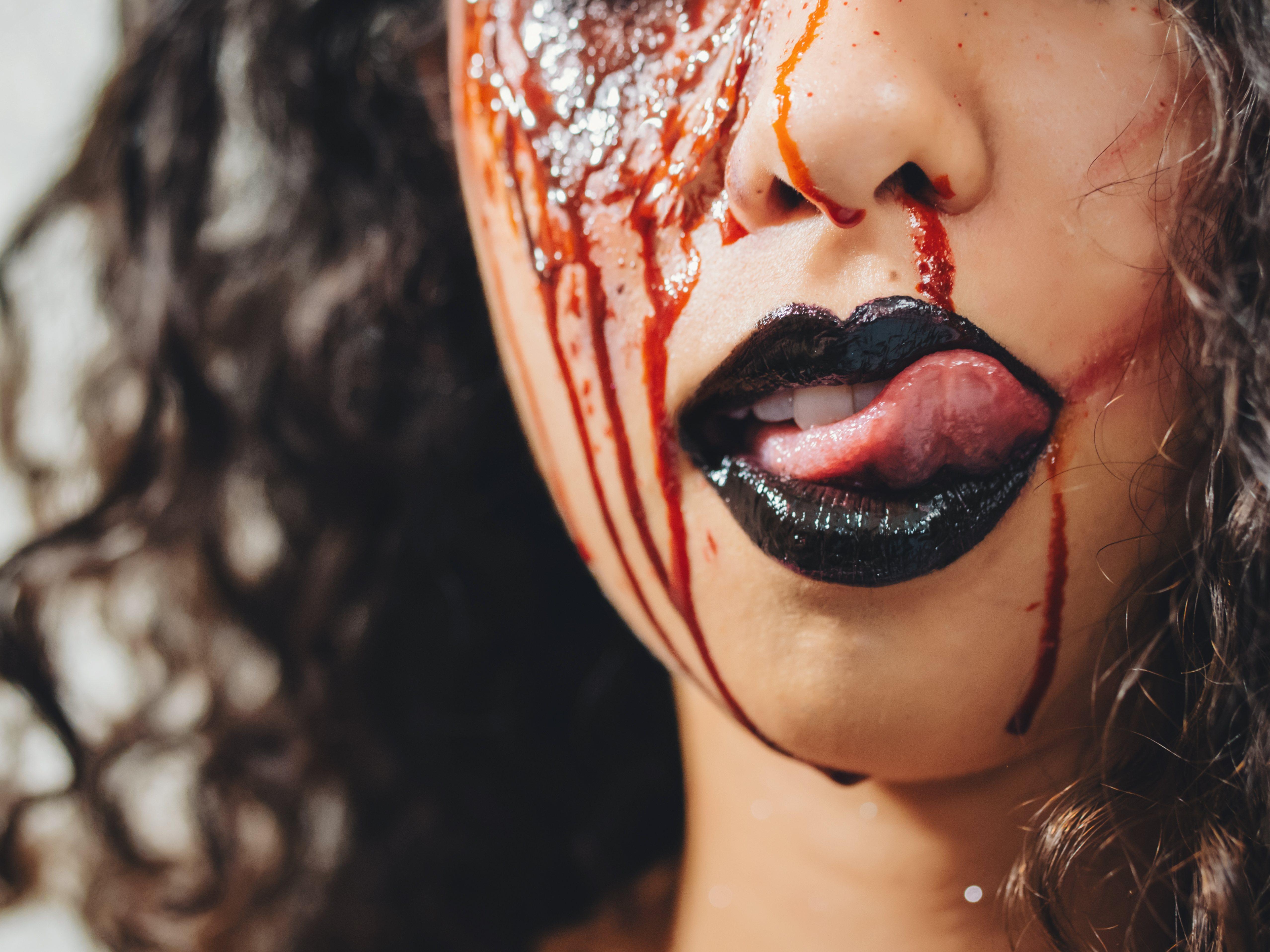 Sangre artificial para un look espectacular