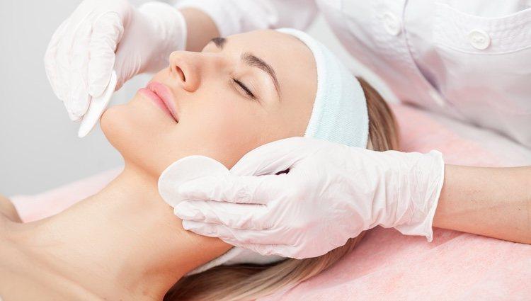 Tras la limpieza la piel puede quedar un poco enrojecida