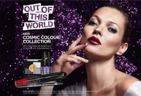 Imagen promocional de la colección 'Out of this world' de Rimmel London