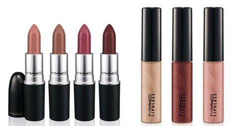 Barras de labios y gloss 'Magnetic Nude' de MAC