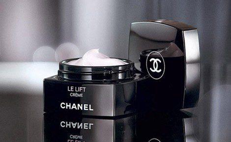 Frasco de la crema 'Le Lift' de Chanel'