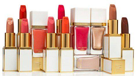 Barras de labios y esmaltes de la colección PV2014 de Tom Ford