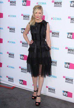 La actriz Kristen Dunst