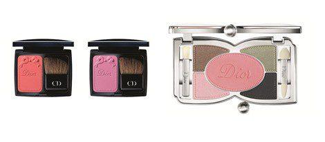 Blush y sombras de la colección 'Dior Trianon'