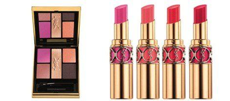 Sombras y barras de labios de la colección 'Flower Crush' de YSL