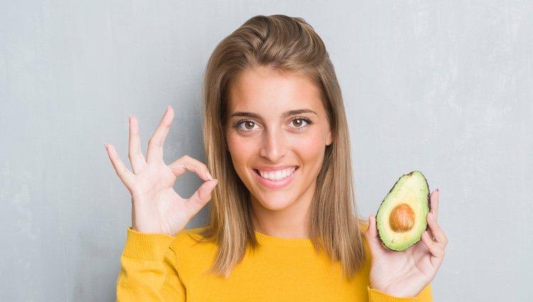El aguacate tiene un alto contenido en vitamina E