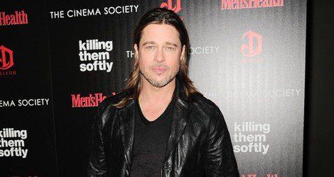 Brad Pitt apostó por el pelo largo para suavizar la mandíbula