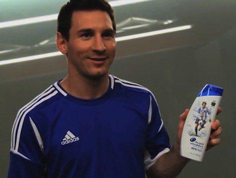 Leo Messi, nuevo embajador mundial de los champús H&S