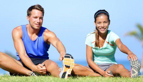 Los ejercicios se pueden hacer también en grupo