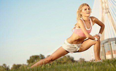 Puedes aprovechar el buen tiempo para hacer los ejercicios al aire libre