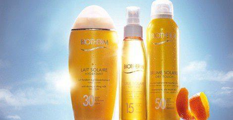 Productos 'Dry Tpuch Suncare' de Biotherm