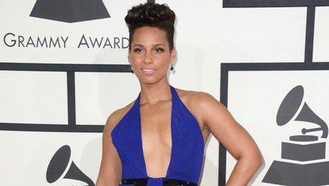 Alicia Keys en los Premios Grammy 2014