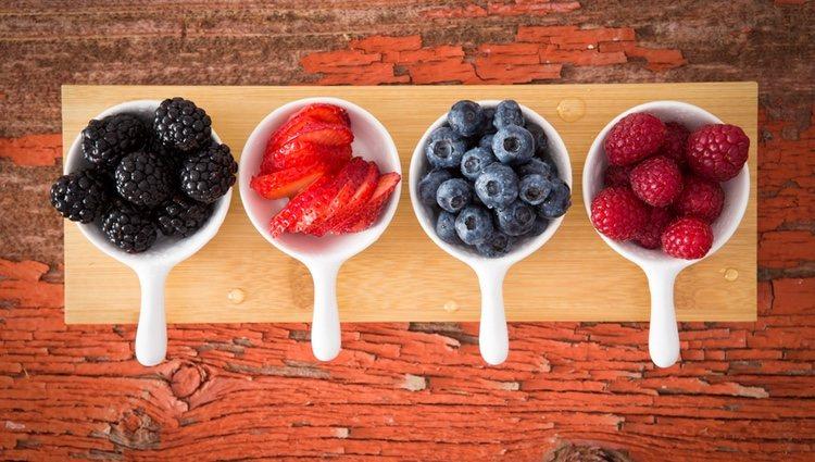 Los frutos rojos ayudan a eliminar toxinas