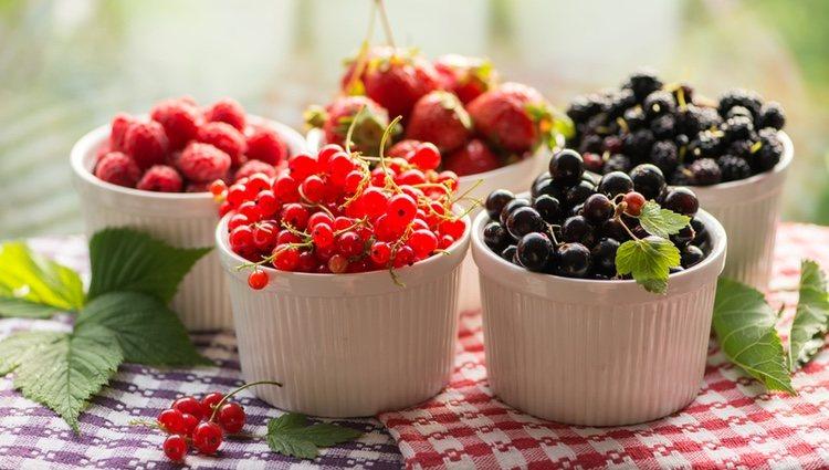 Los frutos rojos ayudan a la producción de colágeno