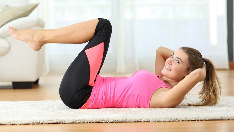 Tonifica tu abdomen tras ser madre