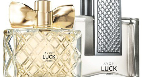 'Luck for Her' y 'Luck for Him' de Avon