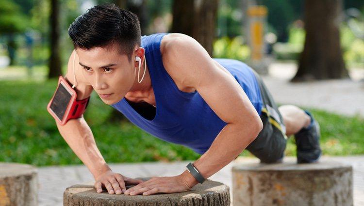Desarrolla tus músculos pectorales
