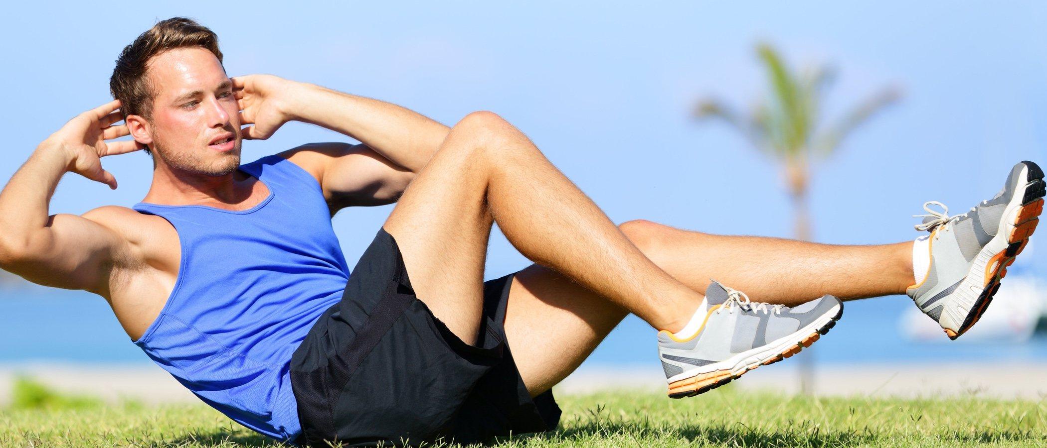 Los abdominales definirán tu cuerpo: el six pack