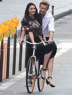 Simon Baker rueda el spot para Givenchy